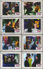 GAMES original 1967 lobby card set JAMES CAAN/KATHARINE ROSS/SIMONE SIGNORET