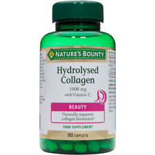 Nature's Bounty Hydrolysed Collagen 1000mg with Vitamin C 90 Caplets