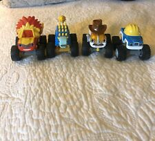 blaze and the monster machines die cast Rare Hard To Find In Stores Lot Of 3