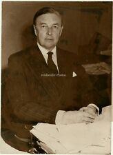 Orig.Photo Der Sekretär d. Krönungsfeierlichkeiten,1952