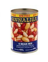 Annalisa 4 Beans Mix 400gm