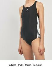 Adidas 3 Stripes Swimsuit Ladies Size: 10