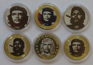 Russia Set of 6 coins 10 rubles Che Guevara. Ernesto Che Guevara