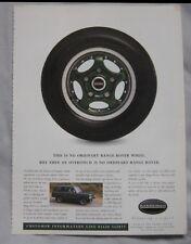 1996 Overfinch Range Rover Original advert