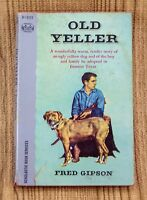 Old Yeller by Fred Gipson 1962 Vintage Scholastic Pocket Books Paperback