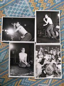 DEAD KENNEDYS 4 ORIGINAL VINTAGE PHOTOGRAPHS London 1981 Jello Biafra punk lard