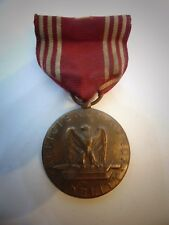 TWO WWII Army Medal US Good Conduct Ribbon Vintage Efficiency Medal