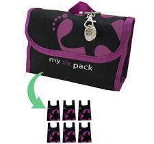 Footprint Bags Reusable bags  6 Bag Pack Purple