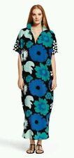 oversized Marimekko size S/M (10 12 14 16 18 20) Kukkatori maxi kaftan dress