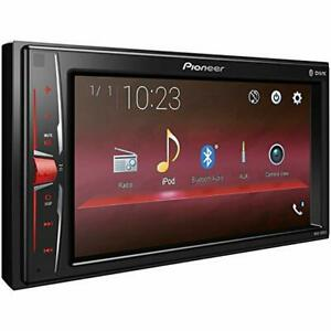 "Pioneer MVH-A215BT 2 DIN Multimedia AV Receiver 6.2"" Display & Bluetooth"