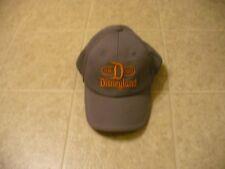 Disneyland Parks Disneyland 1955 gray & orange one size adjustable strap cap