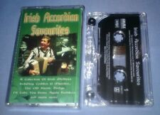 V/A IRISH ACCORDION FAVOURITES cassette tape album