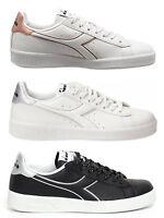 DIADORA GAME P WN Woman scarpe donna stan sportive smith sneakers pelle bianco