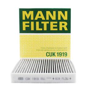 MANN Cabin FilterCUK1919 fits JAGUAR XF X260 3.0 2.0 3.0 D 2.0 D