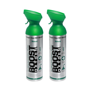 Boost Oxygen Natural 200 Breath (Large Size) - 2 Pack