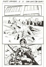 Mighty Avengers #4 p.4 - S.H.I.E.L.D. Agents Hudson River 2014 art by Greg Land