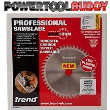 TREND PROFESSIONAL 165MM 48T TCT SAW BLADE FITS DEWALT PLUNGE SAW FT/165X48X20