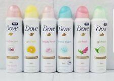 6 X Assorted Dove 48HR Antiperspirant Deodorant Body Spray 150 ML / 5oz