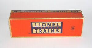 Lionel Postwar No. 682 Engine BOX and INSERT ONLY NO RESERVE (DAKOTApaul)