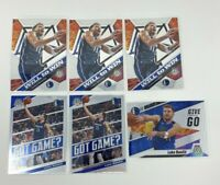 2019-20 Panini Mosaic Luka Doncic Lot X6 Cards Give And Go Will To Win Got Game