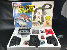 circuit électrique EURO TOY TURBO SPEED BMW M1 ET LANCIA COMPLET