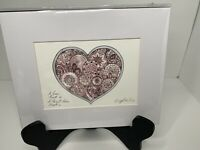 BRIGHTON Art Print Fashionista 8x10 Signed Tom Clancy Heart Love Beat