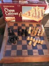 VTG 70's CHESS GAME  PREMIER EDITION NO 8216 CARDINAL Wood