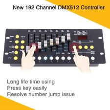 New 192 DMX Controller DJ  Console Programmable Stage Lighting Control Board