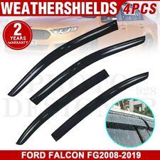 Premium Weather Shields Weathershields Window Visor for Ford FALCON FG2008-2019