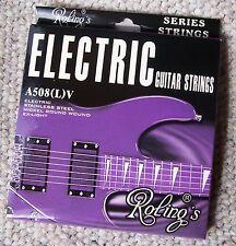 Roling's A508LV Pack completo corde scalatura 010 per chitarra elettrica