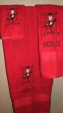 Nightmare Christmas Jack Picture Frame Personalized  3 Piece Bath Towel Set