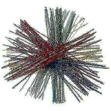 Creation Station Tinsel Pipe Cleaners - Pack of 100