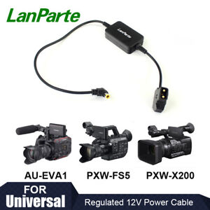 Lanparte D-tap to 12V Battery Power Cable for Panasonic EVA1 Sony FS7 FS5 FS5M2