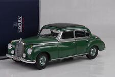 1955 Mercedes-Benz W186 TIPO 300 Verde verde 1:18 Norev