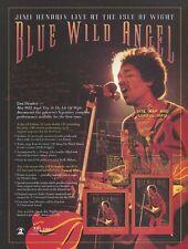 Jimi Hendrix Blue Wild Angel 2002 Promo Poster Ad
