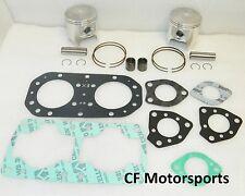Kawasaki 650 +1.00mm WSM Top End Rebuild Piston Kit X2 SX Jetmate TS 650SX