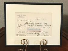 Brigham Young LDS Mormon Signed Autograph With General Richard Whitehead JSA