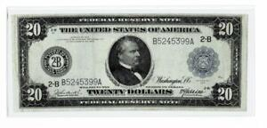 1914 $20  Large Size  Federal Reserve Note ,NEW YORK , NY ~VERY FINE