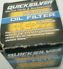 Quicksilver 35-858004Q OIL FILTER-HI EFFICIENCY
