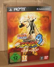 Naruto Shippuden Ultimate Ninja Storm 3 Will of Fire Limited Collectors PS3 UK