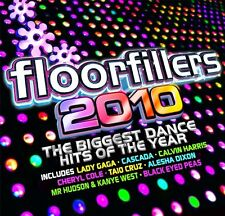 FLOOR FILLERS 2010 - 2 X UNMIXED CDS FUNKY HOUSE R&B CLUBLAND URBAN DANCE CDJ DJ