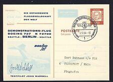 57904) Berlin Zudruck GA P 58 Bed.Dt. PAA Demo-Flug Berlin 2.12.64