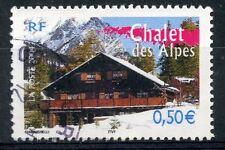 STAMP / TIMBRE FRANCE OBLITERE N° 3711 CHALET DES ALPES