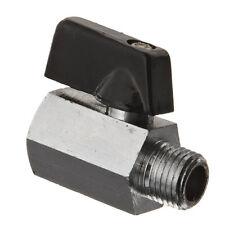 "1/4"" Bsp Ball Valve Threads Tap Male Female Air Compressor Hose Brass Handle IBU"