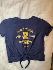 Riverdale River Vixens Cheerleading Shirt Size S