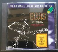The Original Elvis Presley Collection # 32 Elvis In Person - MINT CD FAST POST