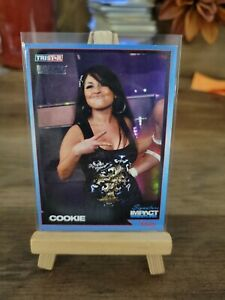 2011 TRISTAR TNA Signature Impact Wrestling Cookie Parallel/50