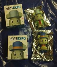 D23 Expo 2015 Jiminy Cricket Vinylmation Eachez Chaser and Common LE 250 Sold Ou