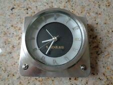 Rare Vintage Heavy Metal Lexus Desk Mantle Clock and Alarm Clock Factory OEM.