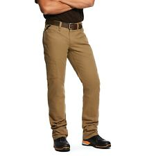 Ariat® Men's Rebar M4 Khaki Made Tough DuraStretch Work Pants 10030239
